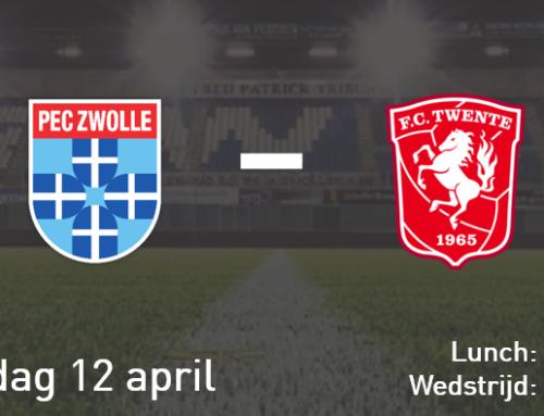 Wedstrijddiner PEC Zwolle – FC Twente